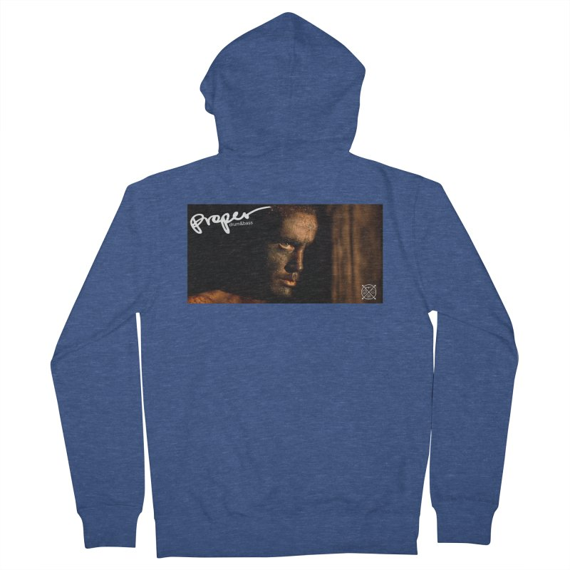 The end! Men's French Terry Zip-Up Hoody by Properchicago's Shop