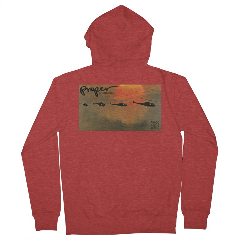 Chop Women's French Terry Zip-Up Hoody by Properchicago's Shop