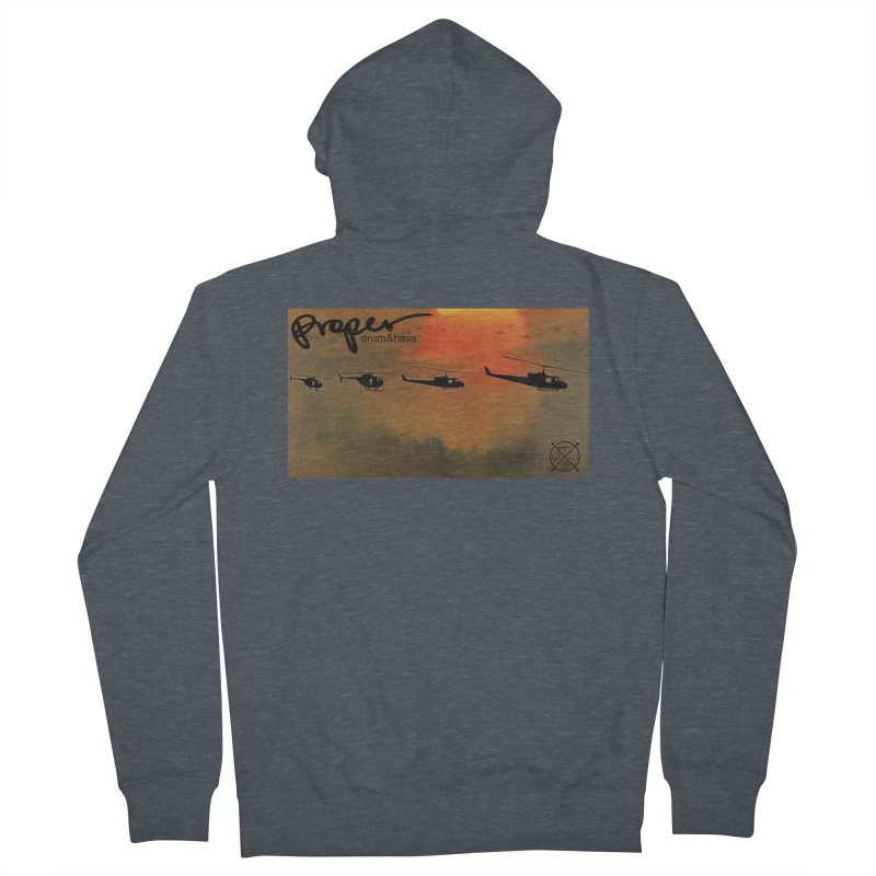 Chop Men's French Terry Zip-Up Hoody by Properchicago's Shop