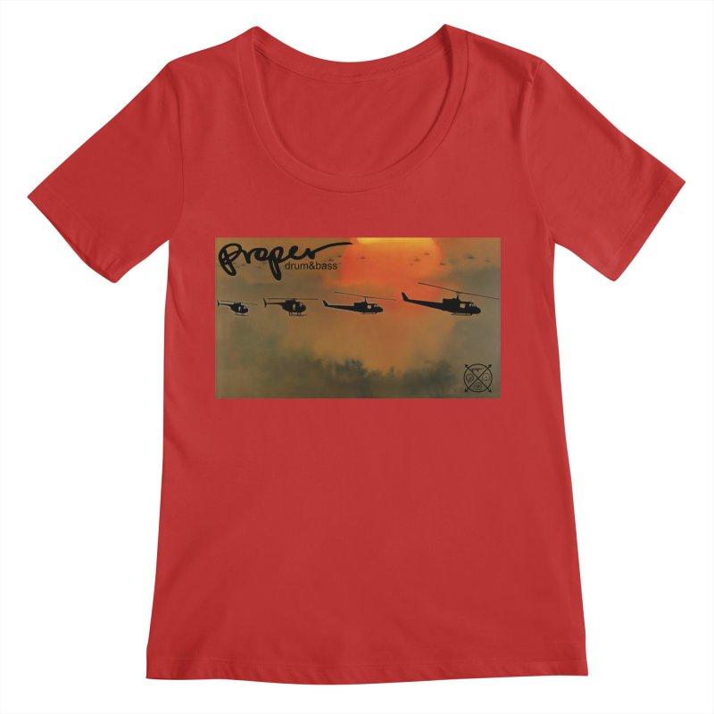 Chop Women's Regular Scoop Neck by Properchicago's Shop