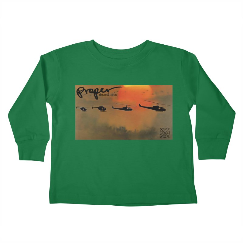 Chop Kids Toddler Longsleeve T-Shirt by Properchicago's Shop