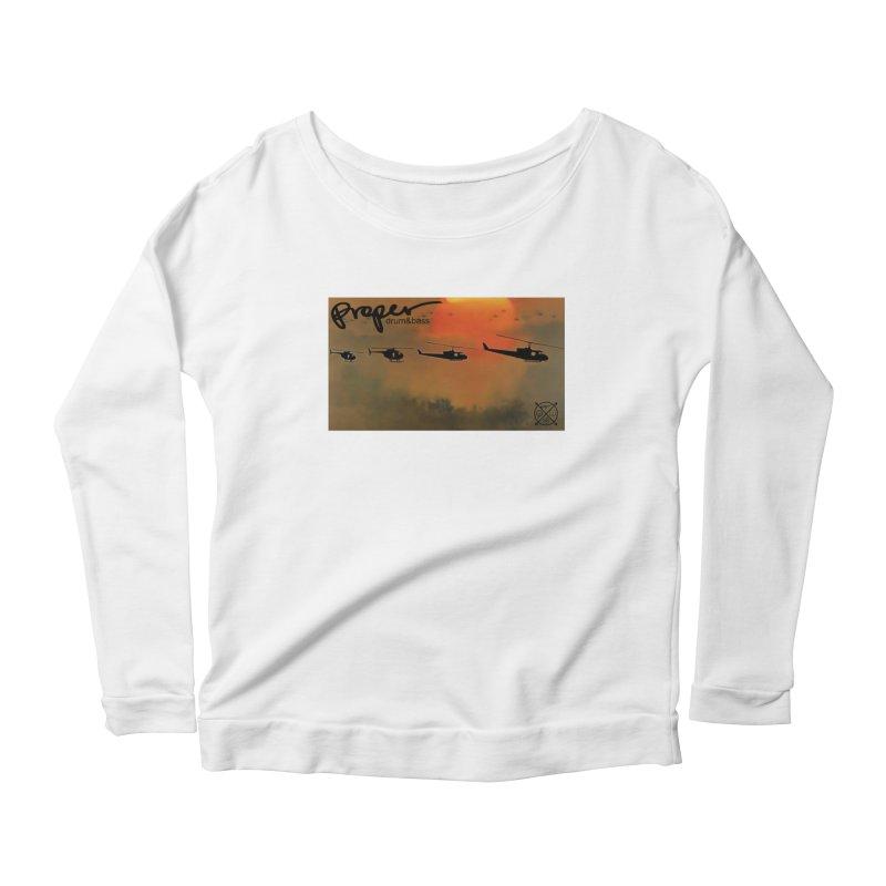 Chop Women's Scoop Neck Longsleeve T-Shirt by Properchicago's Shop