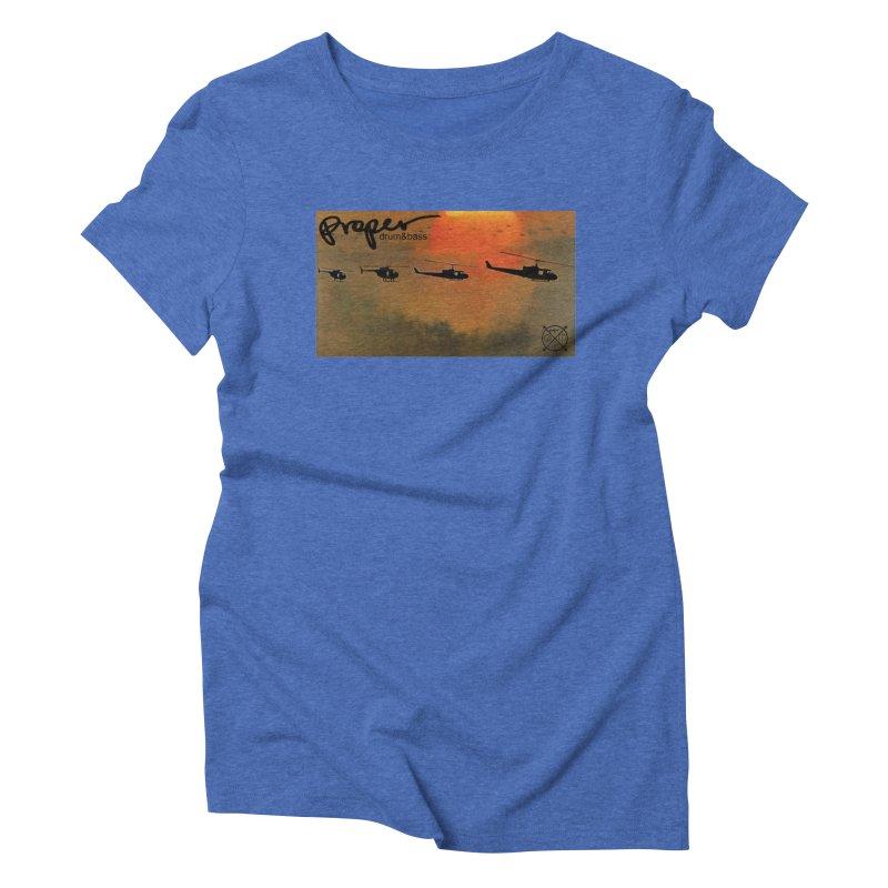 Chop Women's Triblend T-Shirt by Properchicago's Shop