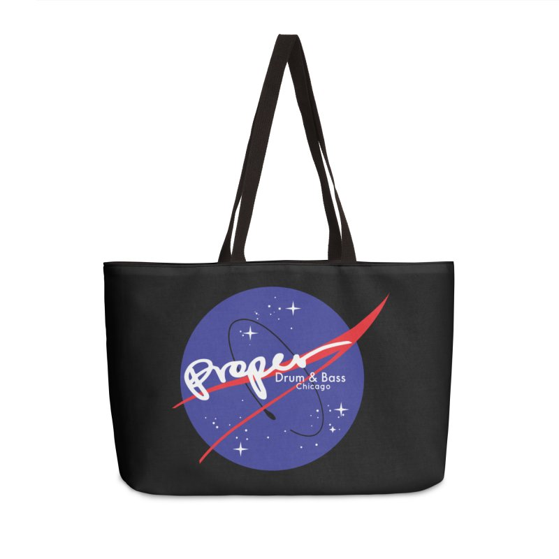 To space and .... Accessories Weekender Bag Bag by Properchicago's Shop