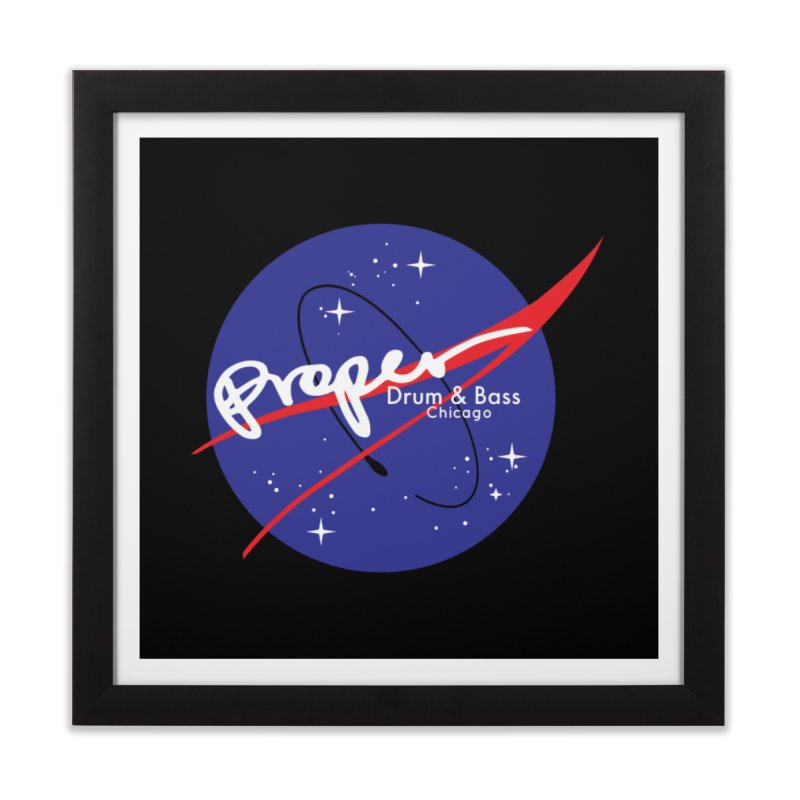 To space and beyond Home Framed Fine Art Print by Properchicago's Shop