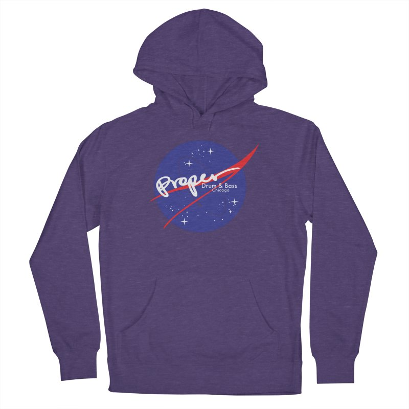 To space and .... Men's Pullover Hoody by Properchicago's Shop