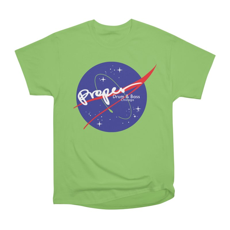 To space and .... Men's Heavyweight T-Shirt by Properchicago's Shop