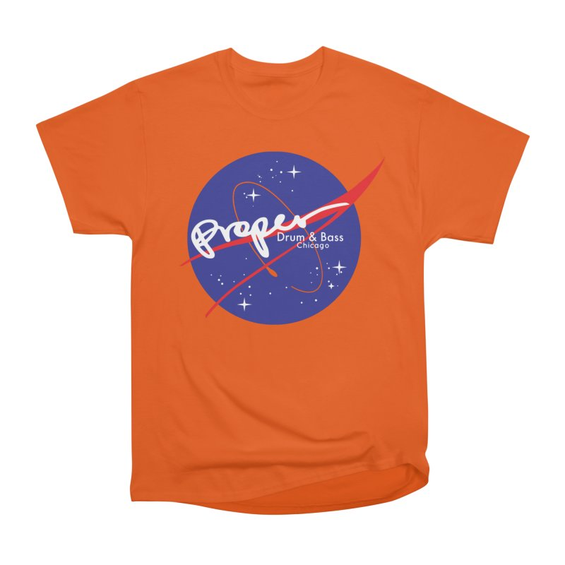 To space and .... Women's Heavyweight Unisex T-Shirt by Properchicago's Shop
