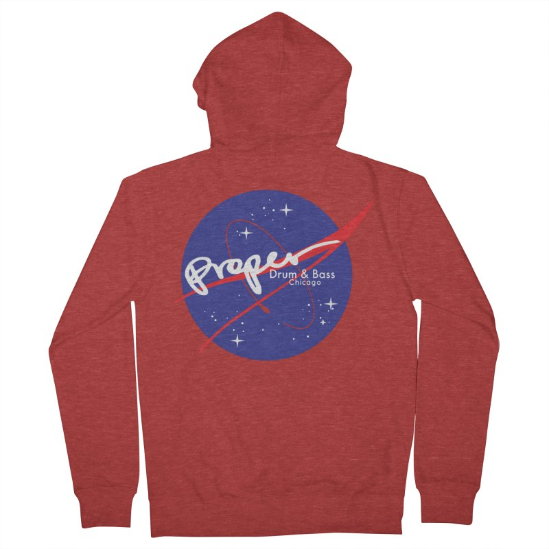 To space and .... Women's French Terry Zip-Up Hoody by Properchicago's Shop