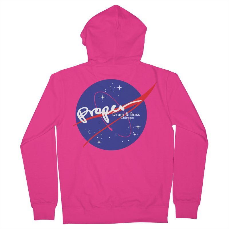 To space and .... Men's French Terry Zip-Up Hoody by Properchicago's Shop