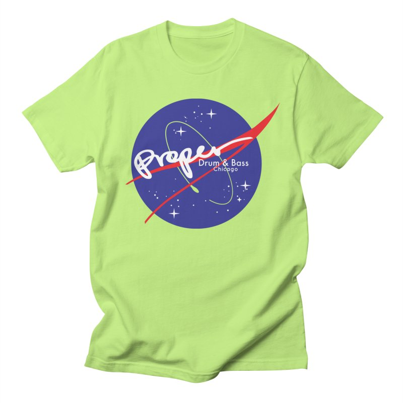 To space and .... Women's Regular Unisex T-Shirt by Properchicago's Shop