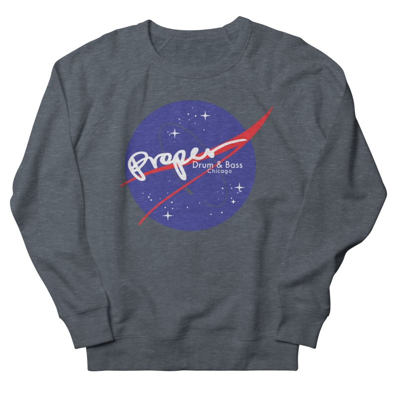To space and .... Men's French Terry Sweatshirt by Properchicago's Shop