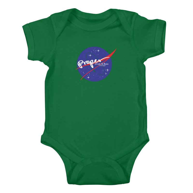 To space and .... Kids Baby Bodysuit by Properchicago's Shop