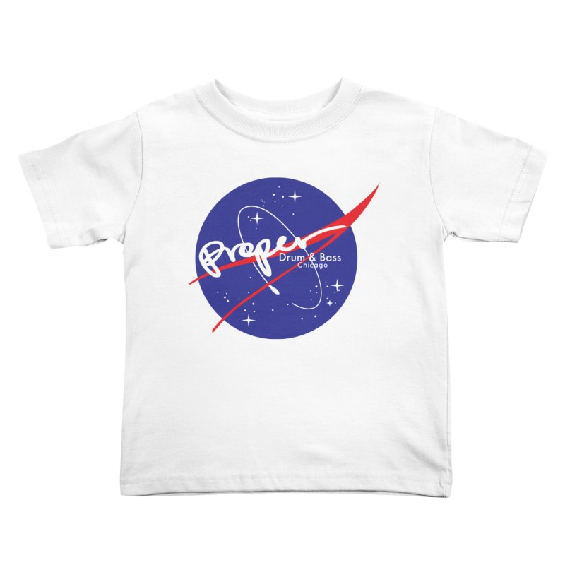 To space and .... Kids Toddler T-Shirt by Properchicago's Shop
