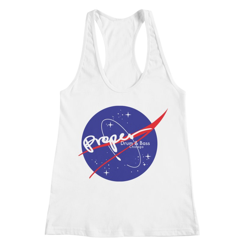 To space and .... Women's Racerback Tank by Properchicago's Shop