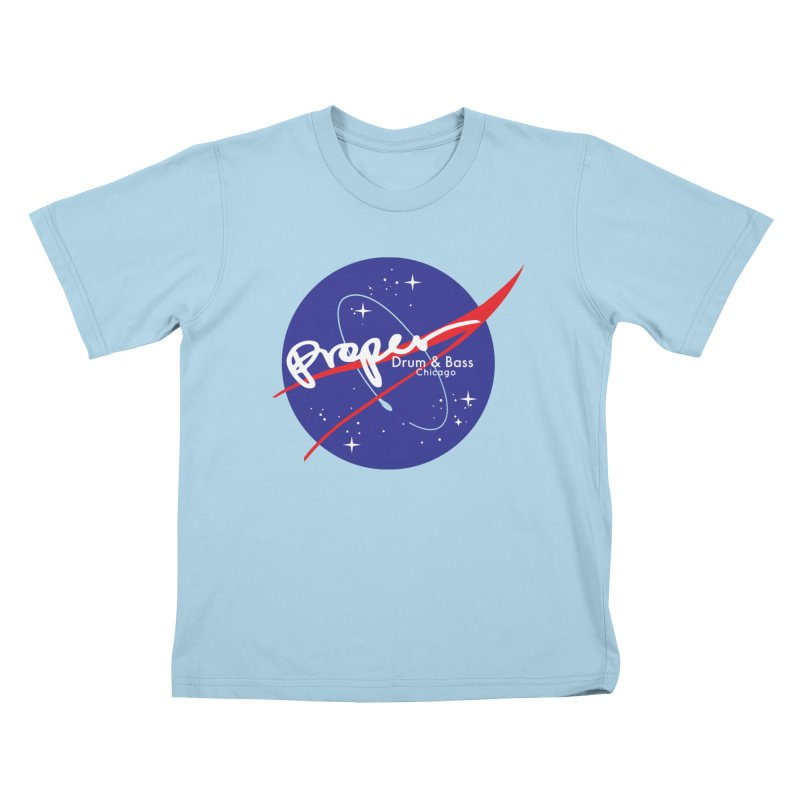 To space and .... Kids T-Shirt by Properchicago's Shop