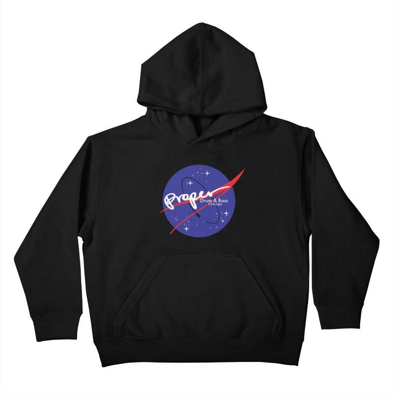 To space and .... Kids Pullover Hoody by Properchicago's Shop