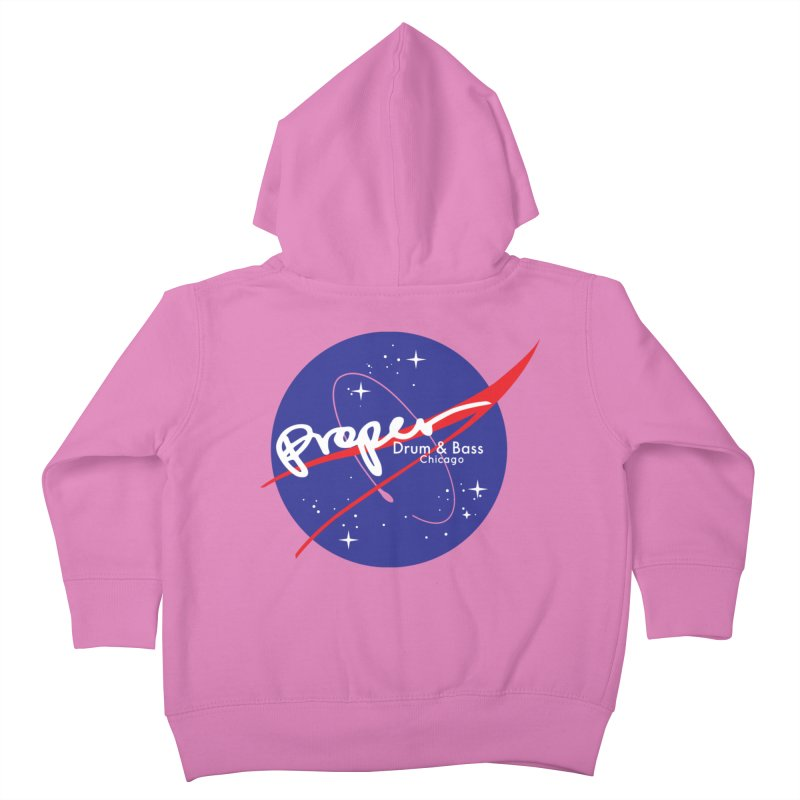 To space and .... Kids Toddler Zip-Up Hoody by Properchicago's Shop