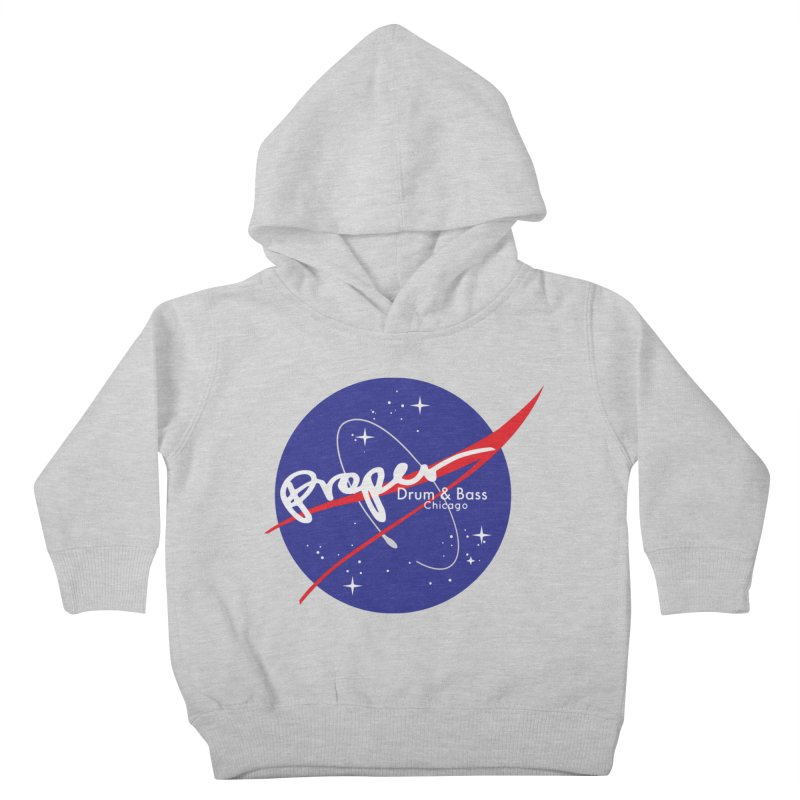 To space and .... Kids Toddler Pullover Hoody by Properchicago's Shop