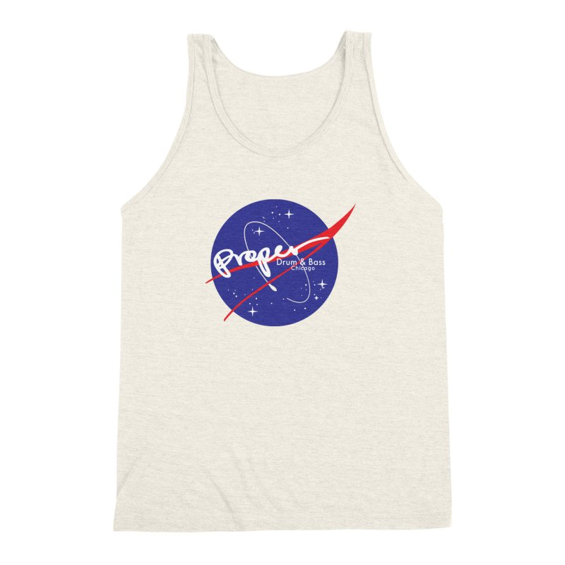 To space and .... Men's Triblend Tank by Properchicago's Shop