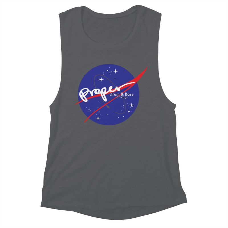 To space and .... Women's Muscle Tank by Properchicago's Shop