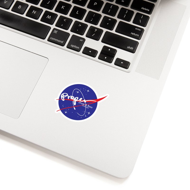 To space and .... Accessories Sticker by Properchicago's Shop