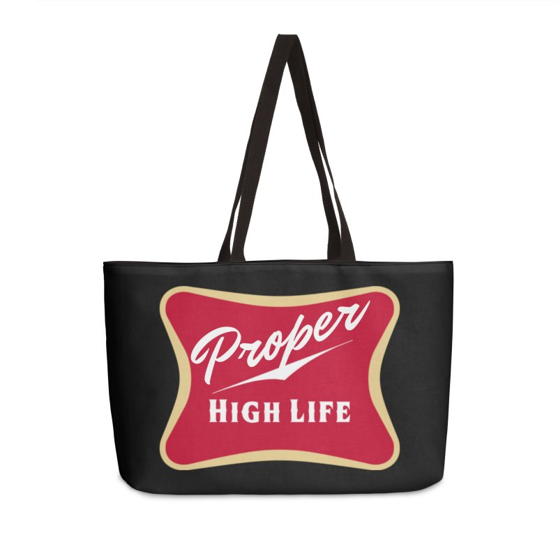 The High Life Accessories Weekender Bag Bag by Properchicago's Shop