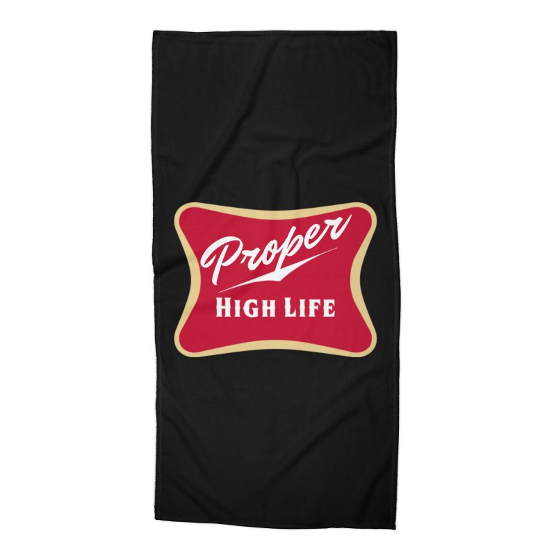 The High Life Accessories Beach Towel by Properchicago's Shop