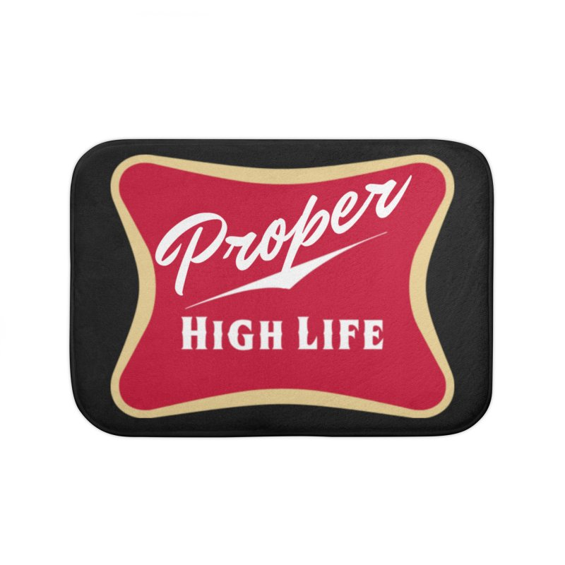 The High Life Home Bath Mat by Properchicago's Shop