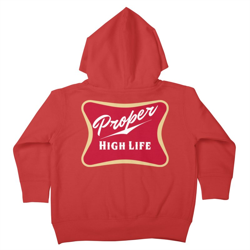 The High Life Kids Toddler Zip-Up Hoody by Properchicago's Shop