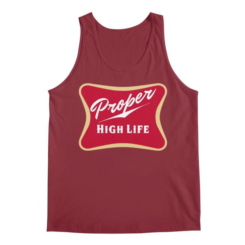 The High Life Men's Regular Tank by Properchicago's Shop