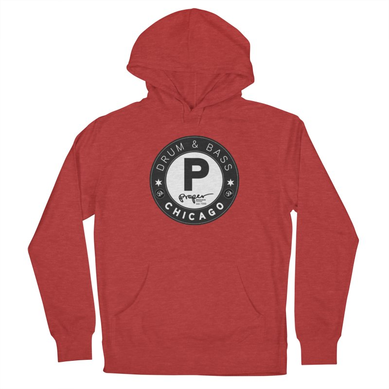 Proper deb logo 1999 Men's French Terry Pullover Hoody by Properchicago's Shop