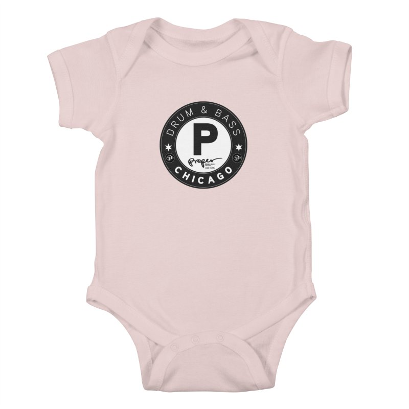 Proper deb logo 1999 Kids Baby Bodysuit by Properchicago's Shop