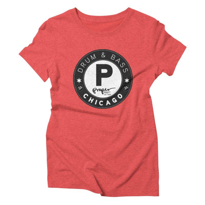 Proper deb logo 1999 Women's Triblend T-Shirt by Properchicago's Shop