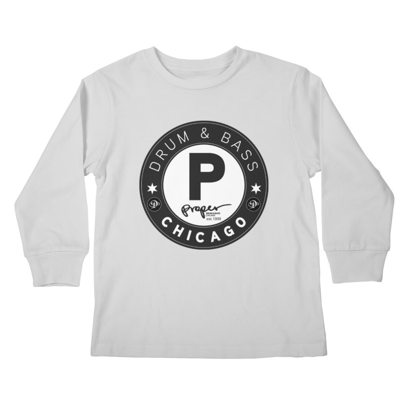 Proper deb logo 1999 Kids Longsleeve T-Shirt by Properchicago's Shop