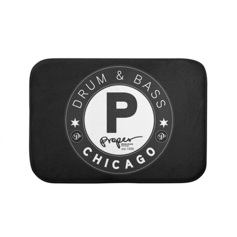 Proper deb logo 1999 Home Bath Mat by Properchicago's Shop