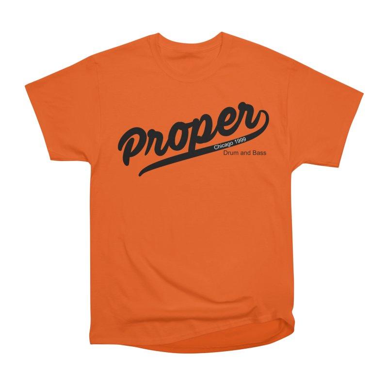 Proper sport Men's Heavyweight T-Shirt by Properchicago's Shop