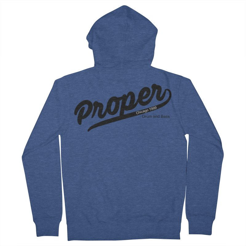 Proper sport Men's French Terry Zip-Up Hoody by Properchicago's Shop