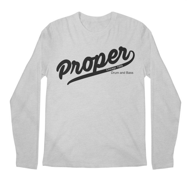 Proper sport Men's Regular Longsleeve T-Shirt by Properchicago's Shop