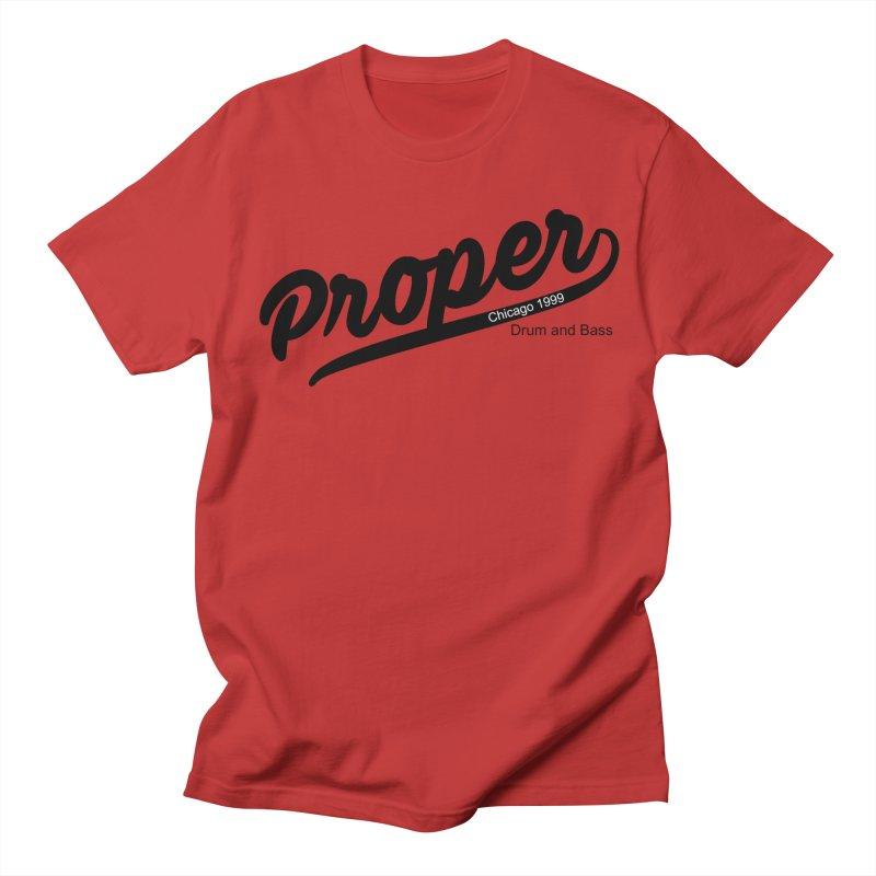 Proper sport Men's Regular T-Shirt by Properchicago's Shop