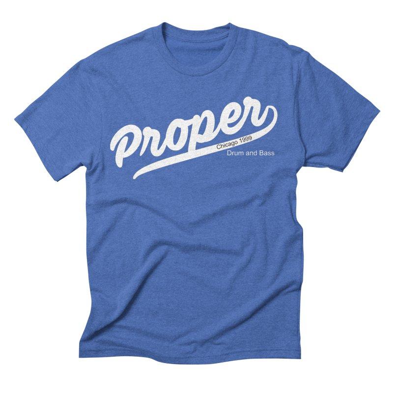 Proper sport wht Men's T-Shirt by Properchicago's Shop