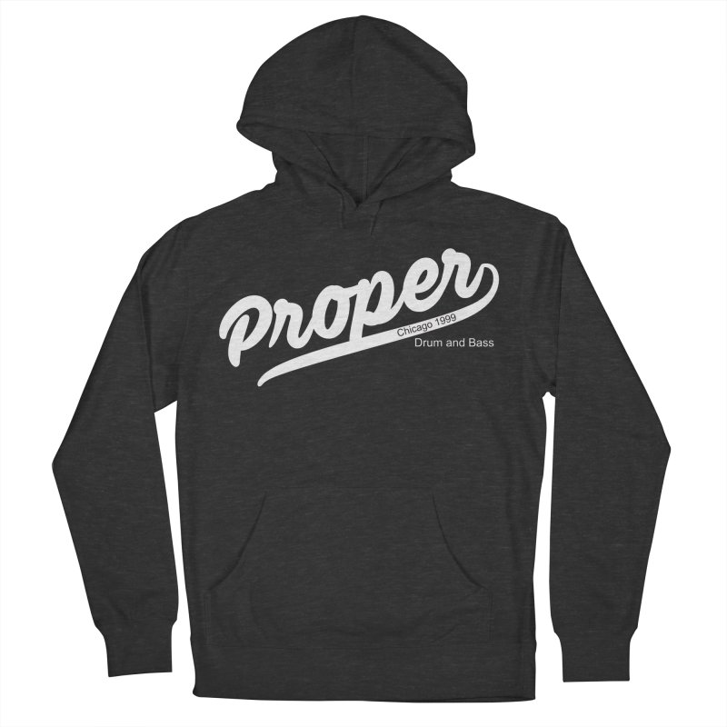 Proper sport wht Women's French Terry Pullover Hoody by Properchicago's Shop