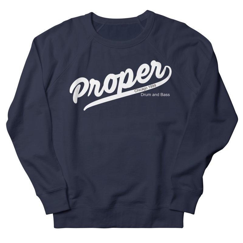 Proper sport wht Women's French Terry Sweatshirt by Properchicago's Shop