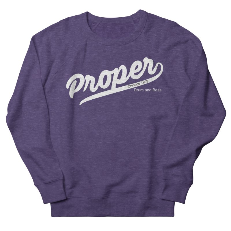 Proper sport wht Men's French Terry Sweatshirt by Properchicago's Shop