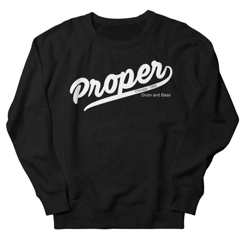 Proper sport wht Men's French Terry Sweatshirt by Properchicago's Shop