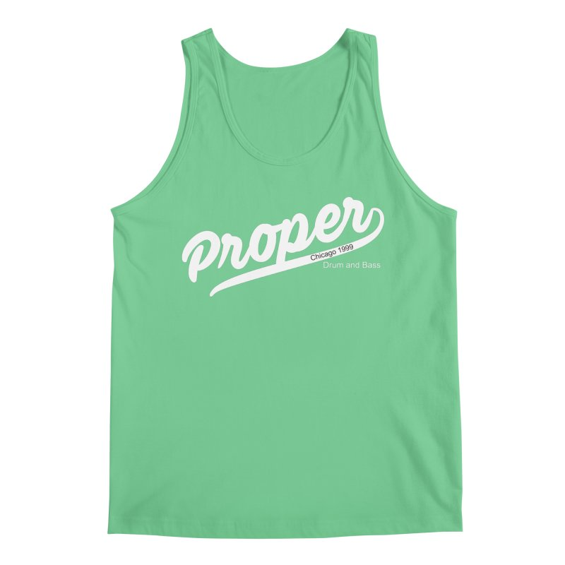 Proper sport wht Men's Tank by Properchicago's Shop