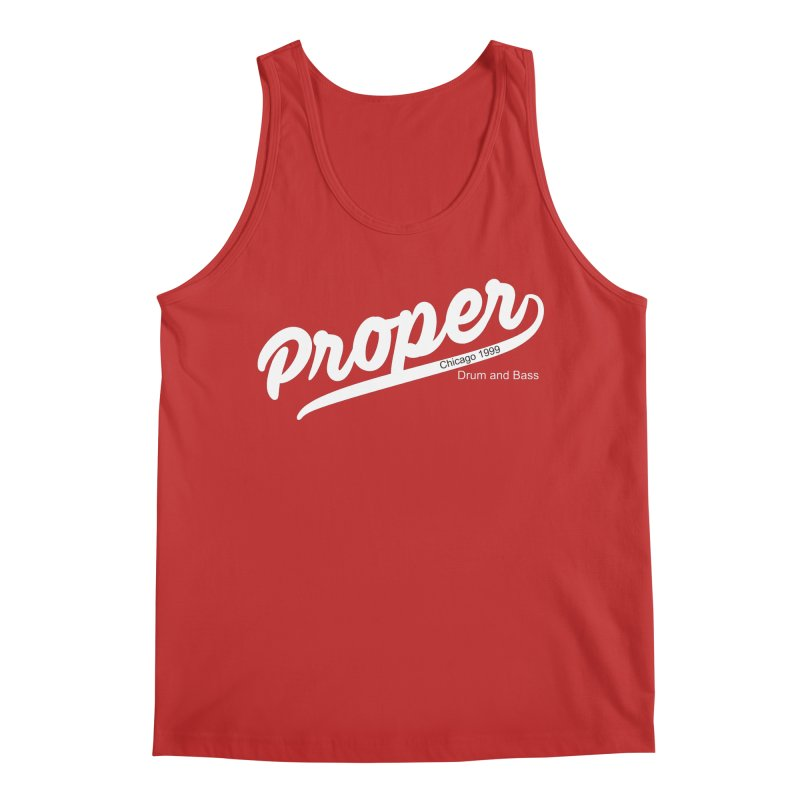 Proper sport wht Men's Regular Tank by Properchicago's Shop