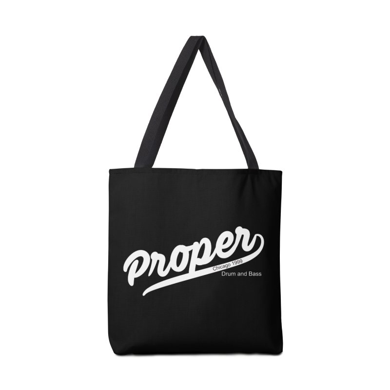 Proper sport wht Accessories Bag by Properchicago's Shop