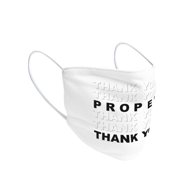 THANK YOU Accessories Face Mask by Properchicago's Shop