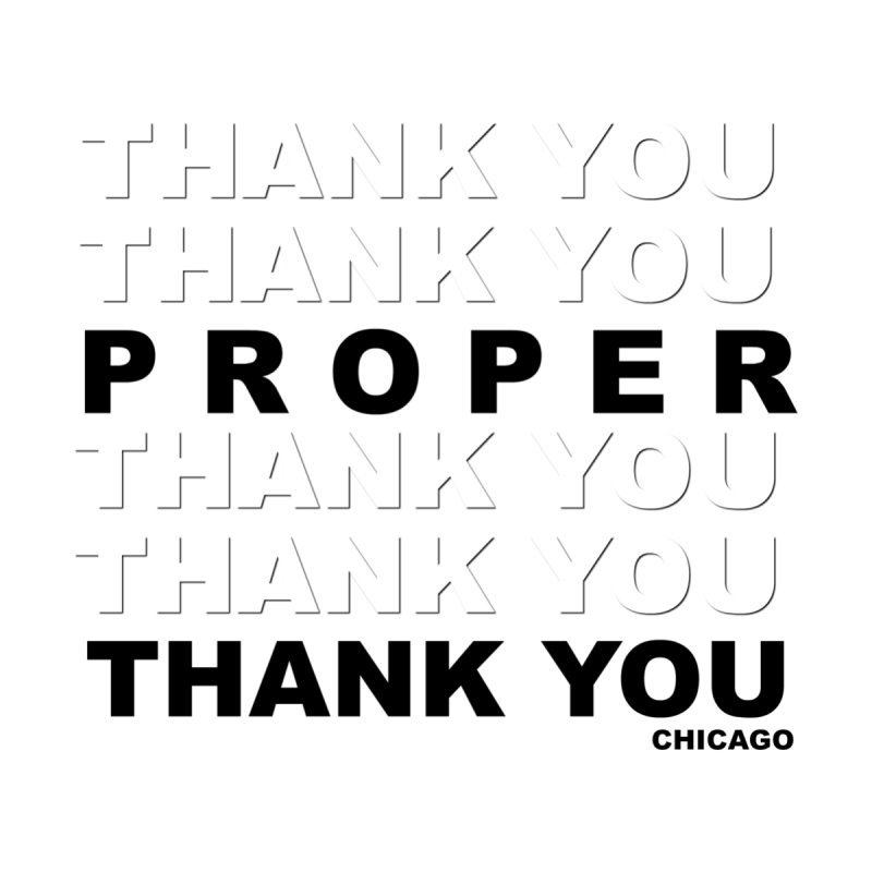 THANK YOU Home Blanket by Properchicago's Shop
